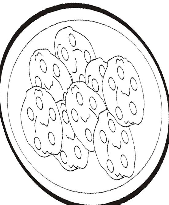 Cookie Sweet Sugar Coloring Page Coloring Pages Color Kids Rugs