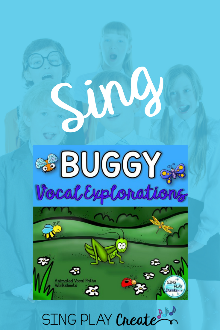 Vocal Explorations Buggy Spring Theme Preschool music