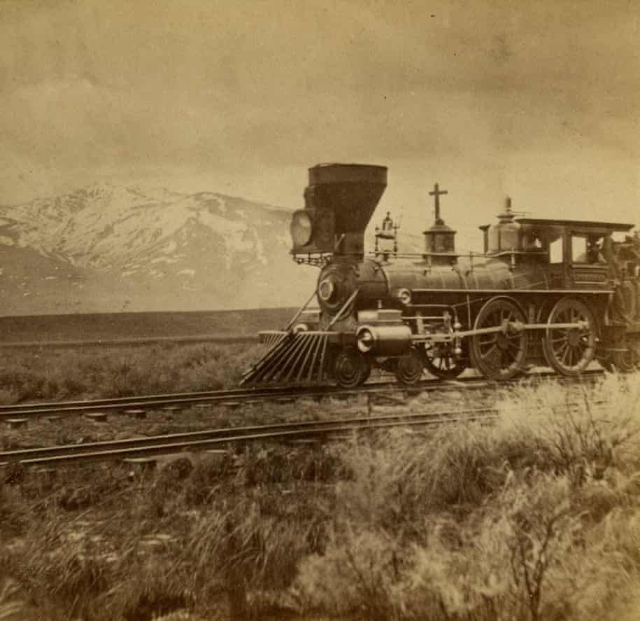 Photo of Stereograph,Central Pacific Railroad,RR,Utah,Mount Halleck,c1865,Hart