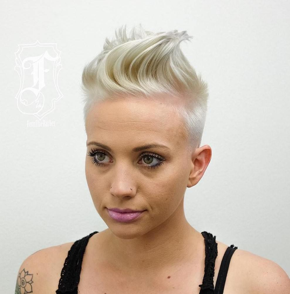 most gorgeous mohawk hairstyles of nowadays graduation