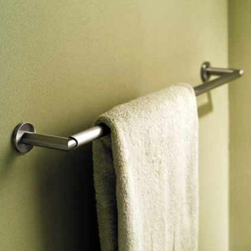Ginger 0208//PC Sine Double-Post Toilet Paper Holder in Polished Chrome