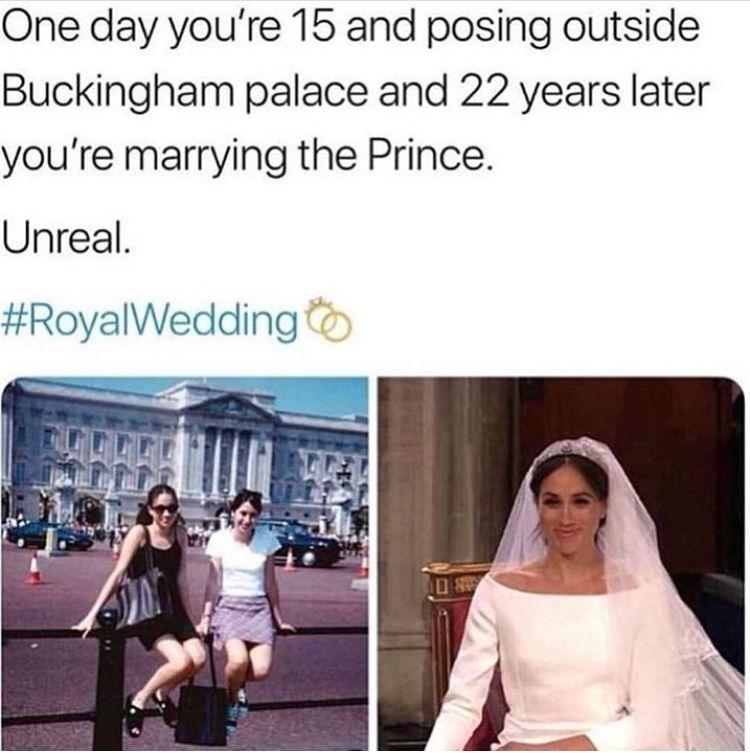 Pin By Karen Rodrigues On Royals Funny Memes Memes Royal Wedding