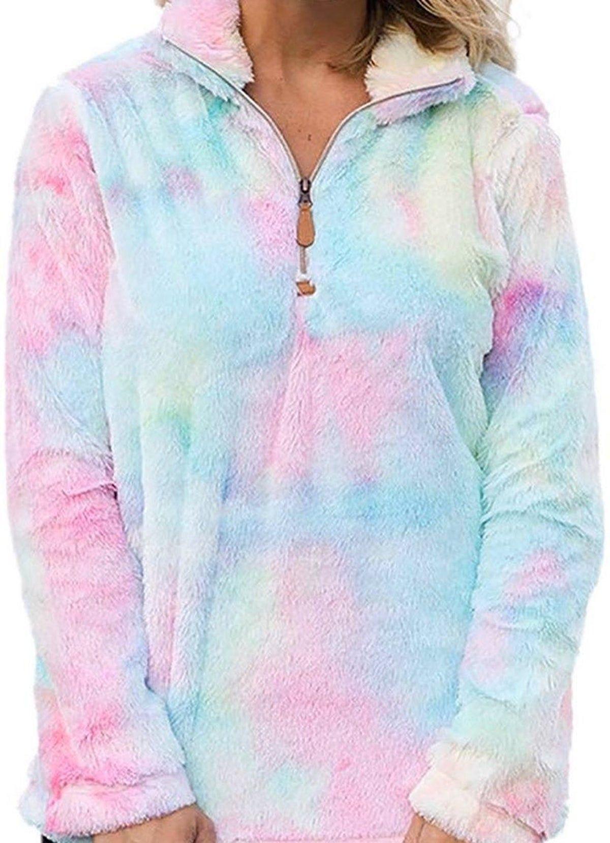 Pin By Dree Anna Kenzie On All Things Cotton Candy In 2021 Winter Outfits Warm Women Hoodies Sweatshirts Long Sweatshirt [ 1658 x 1200 Pixel ]