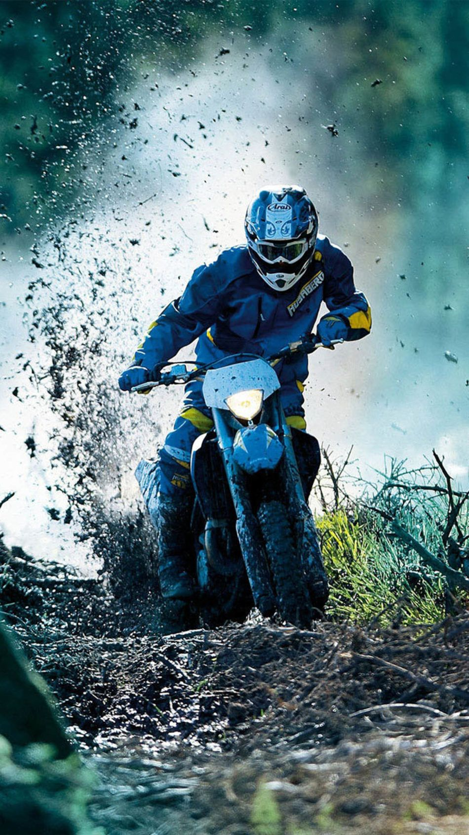 Drift Dirt Bike Race 4k Ultra Hd Mobile Wallpaper Racing Bikes Ktm Motocross Motocross