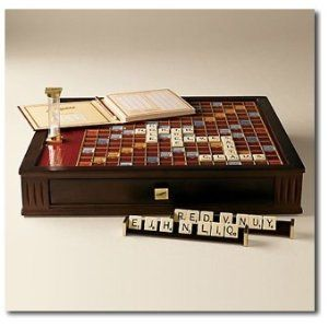 Scrabble Deluxe Wood Edition 99 Products