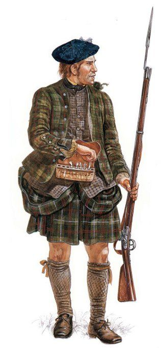 The Jacobites - Interactive Jacobite Soldier | Scottish