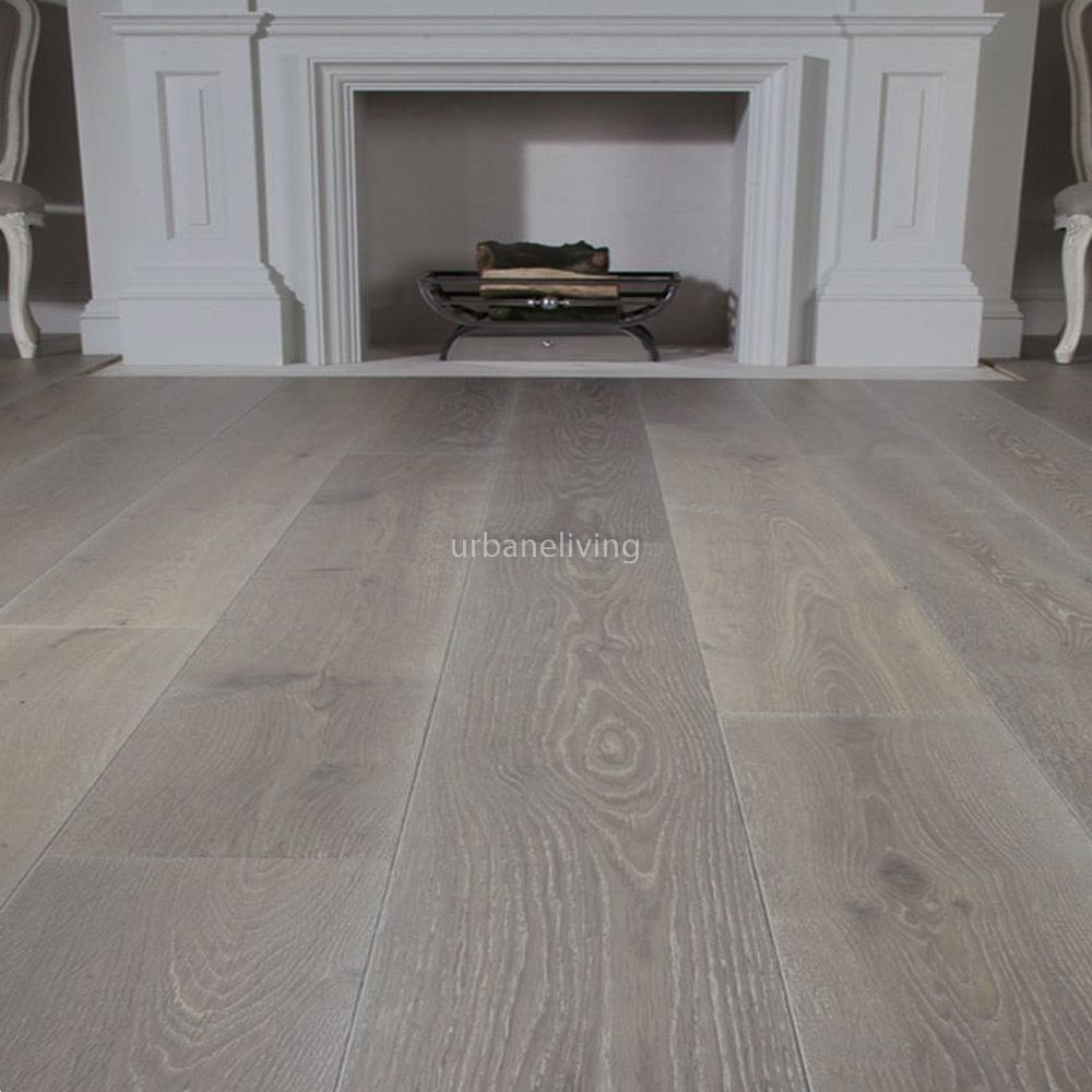 Engineered Wood Flooring Kitchen Example Of Extra Wide Plank Wood Floor By Porcelanosa With White