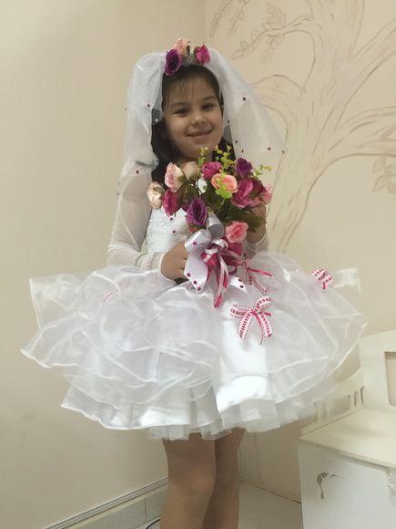 Vestido Noiva Caipira Tule Em Babados Awesome Tutu Costumes
