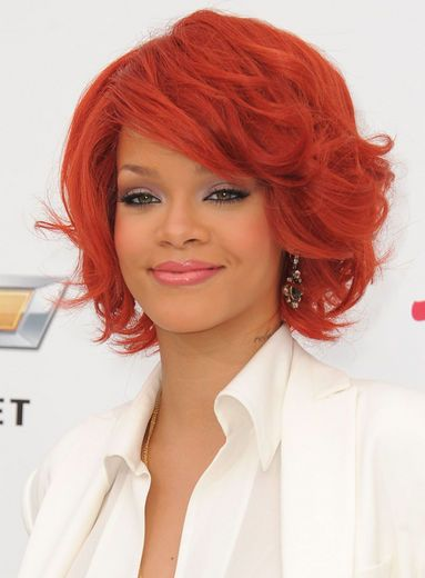 2011: What About Bob?    At the 2011 Billboard Music Awards, RiRi sported a chunky, Ann Margaret-inspired bob.