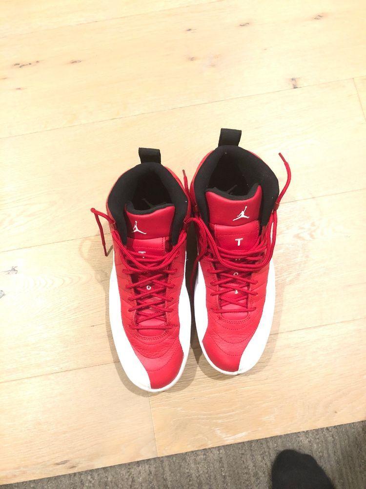 db104221a58 ... Nike Air Jordan 12 Retro 130690-600 Gym Red White Black Size 10.5 Lite  Use ...