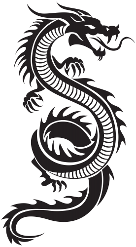 Chinese Dragon Silhouette Png Clip Art Icon Pinterest Dragon