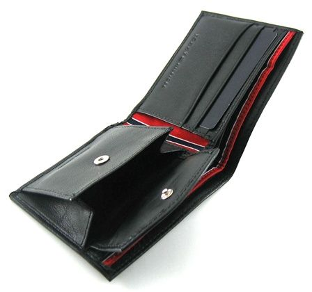 Tommy Hilfiger Stockton Leather Coin Billfold Wallet - Tommy Hilfiger  Wallets - Designer Wallets