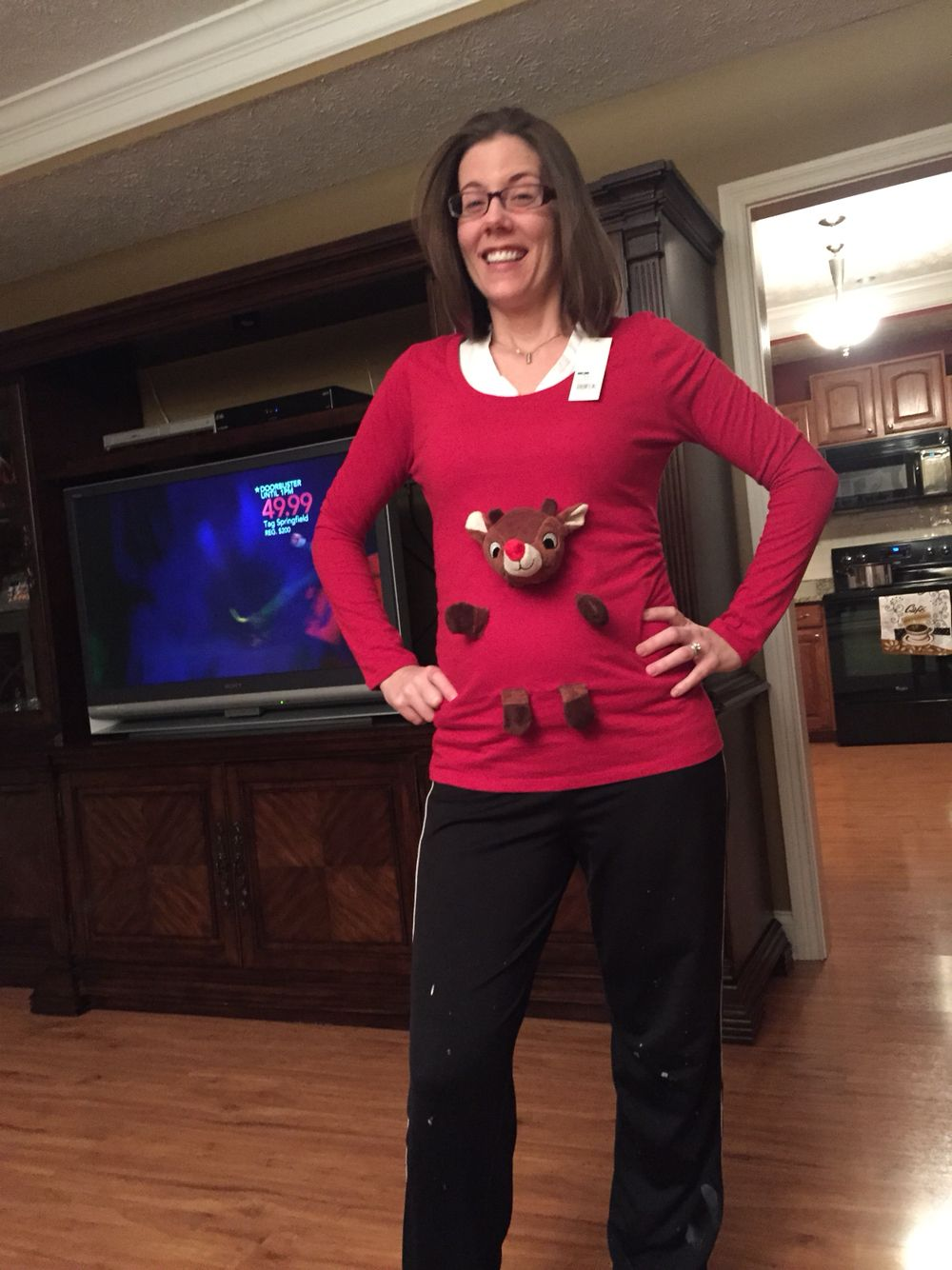 Pregnancy Christmas Sweater.Pin On Ugly Christmas Sweaters