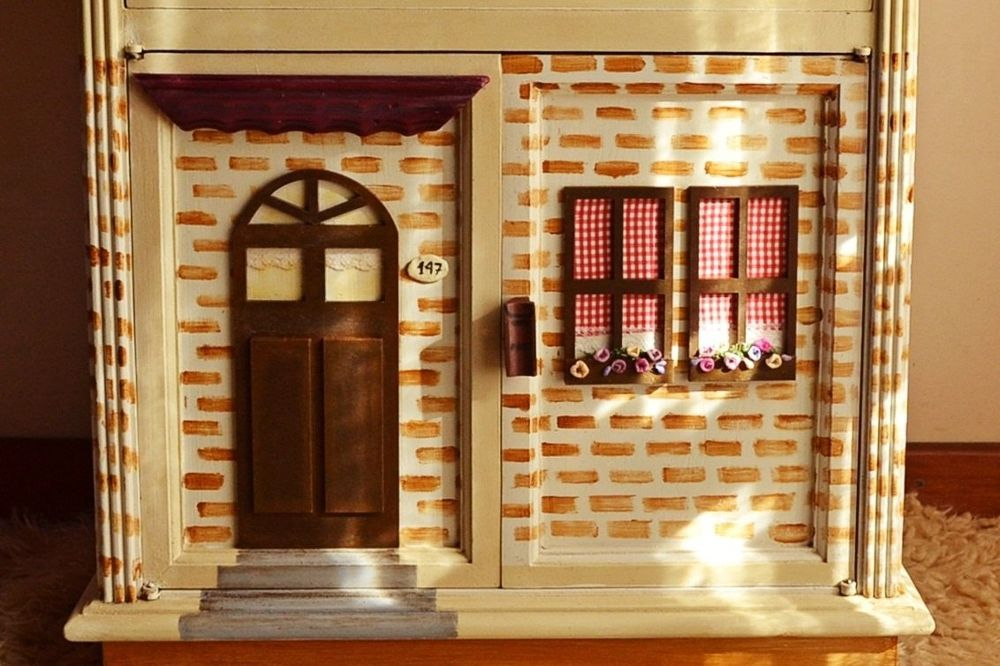 A Nightstand/dolls House