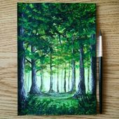 Morning walk Forest by durmazart  Also follow artspy Tag use for a potential feature  Follow us for more art