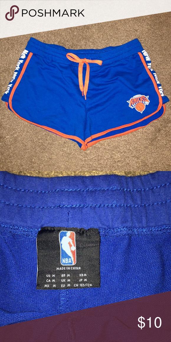 NBA New York Knicks Shorts Size Medium EUC. NBA Shorts  fa778fc695