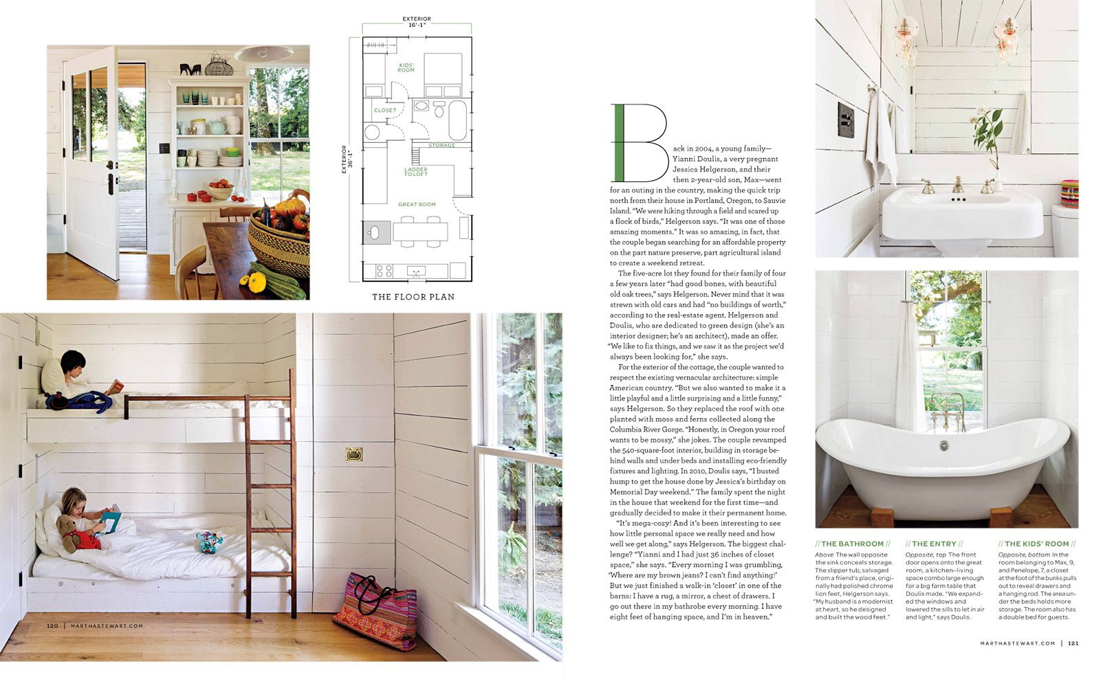Tiny House Featured in Martha Stewart Living | LINCOLN BARBOUR ...