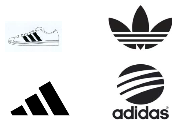 adidas logo evolution google search successful brands rh pinterest com adidas logo font free adidas logo text font