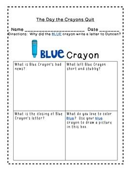 The Day The Crayons Quit Common Core New Book Ccss Fun You Ll