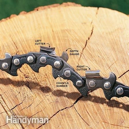 How to sharpen a chainsaw chains wood cutting and woods how to sharpen a chain saw greentooth Images
