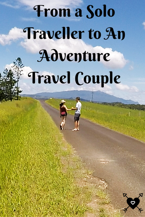 From a Solo Traveller to an Adventure Travel Couple - A Broken Backpack