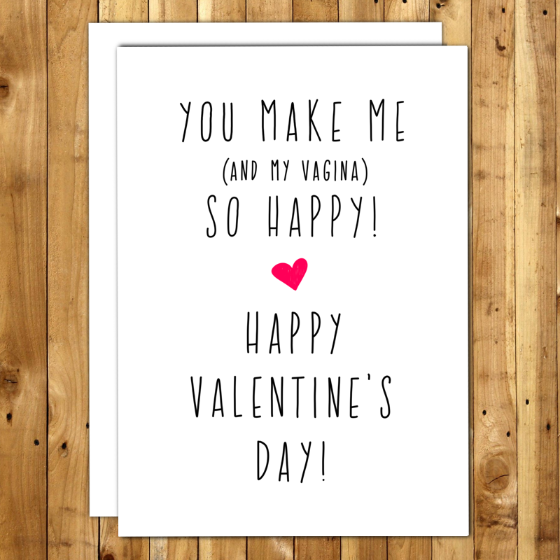 Funny Valentine Card Naughty Valentines Day Card Sexy Valentine – Funny Valentines Cards for Him