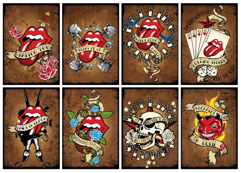 Rolling Stones Tattoo You By 82percentevildeviantartcom