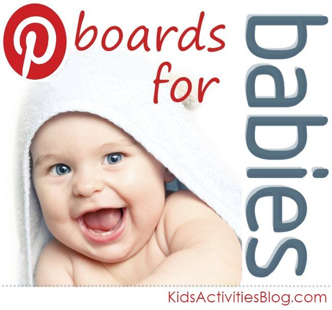 Top 12 Pinterest boards for babies