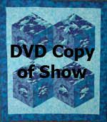 Diamonds In Motion Quilt Technique Instructional DVD. Fussy-cut your favorite designs into diamonds and add border strips for depth. Join diamonds to form tumbling blocks. Pattern not included. http://www.kayewood.com/item/Diamonds_In_Motion_Quilt_Technique_DVD/409 $12.00