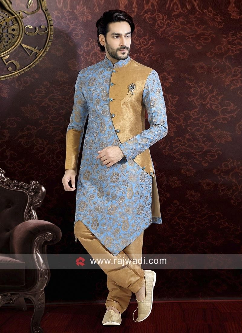 8c4243aa45 Stylish Mens Indo western Sherwani online | Men's Fashion in 2019 ...