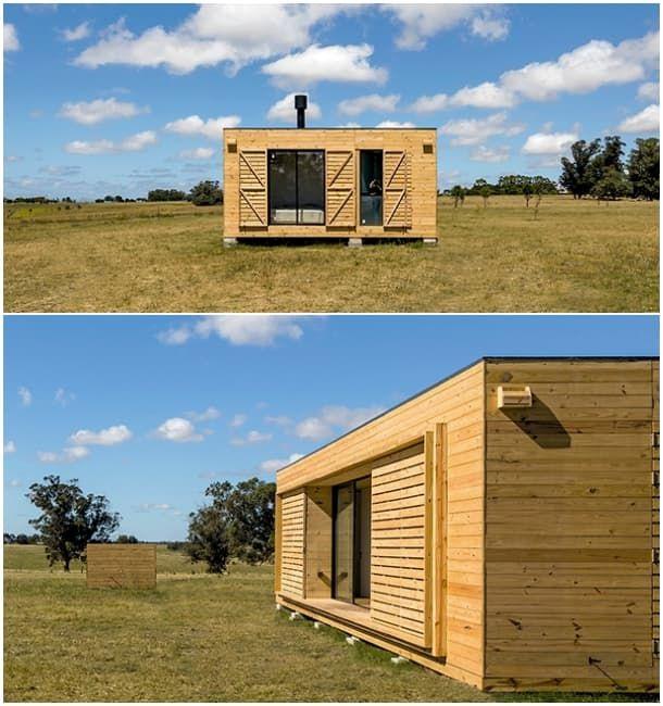 El estudio de arquitectura mapa dise una casa - Casas prefabricadas por modulos ...