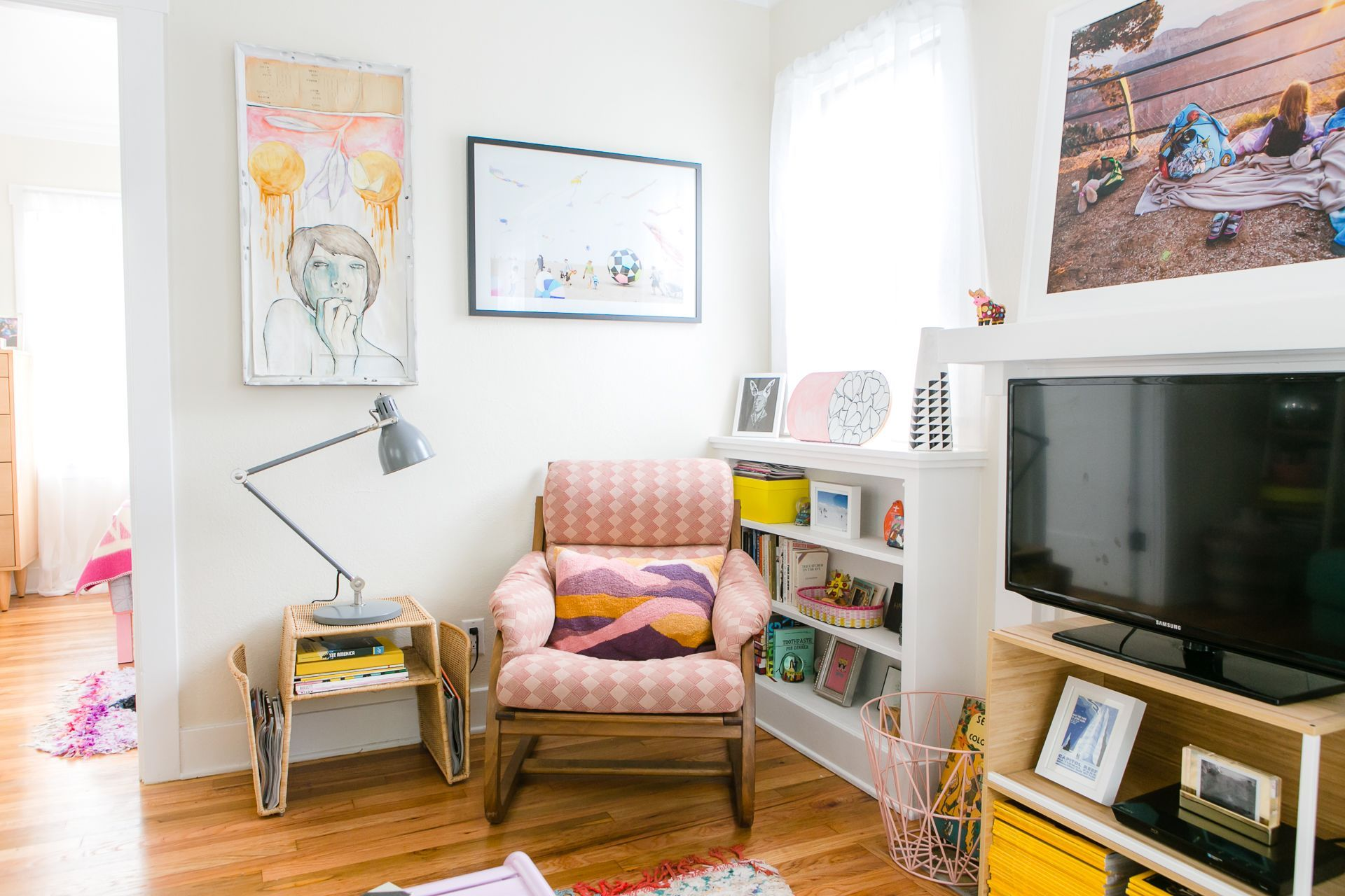 a cozy cali rental as colorful  quirky as the