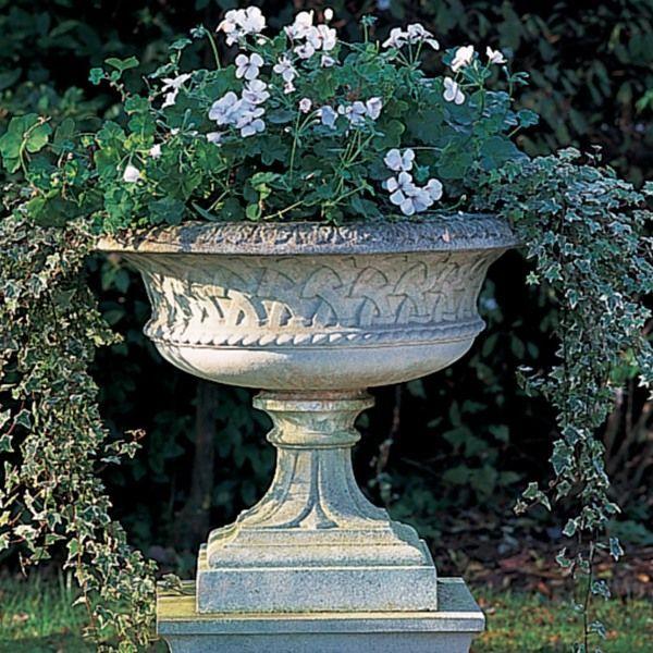 Garden Urns Urn Planter Clearance Garden Urn Flowers With Concrete Pot Stone Planters Garden Urns Outdoor Urns