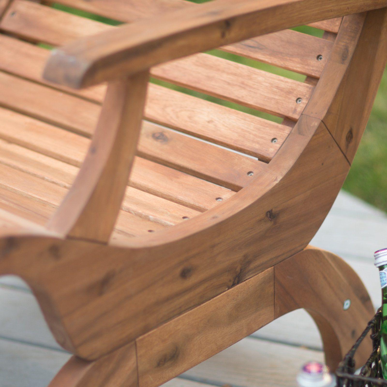 Belham living avondale adirondack chair natural