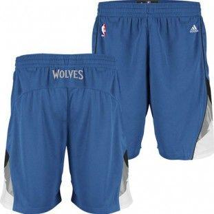 new concept aea14 53dcf Minnesota Timberwolves Adidas NBA Swingman Shorts (Blue ...