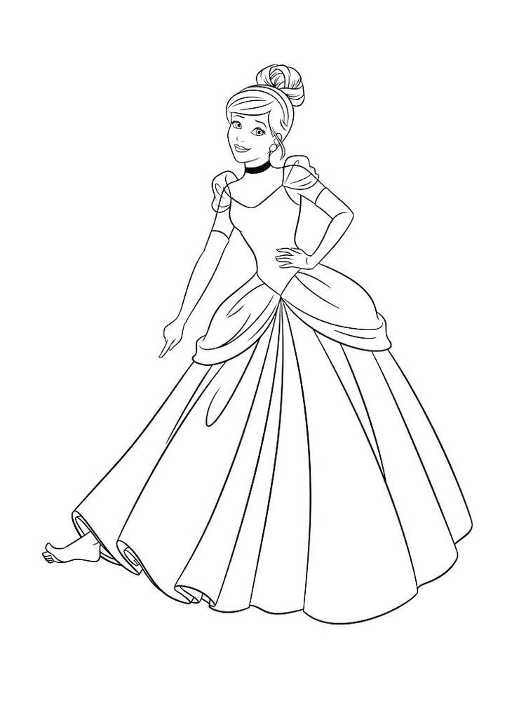 Cinderella Coloring Pages Games Below Is A Collection Of Adorable Cinderella Cinderella Coloring Pages Princess Coloring Pages Disney Princess Coloring Pages