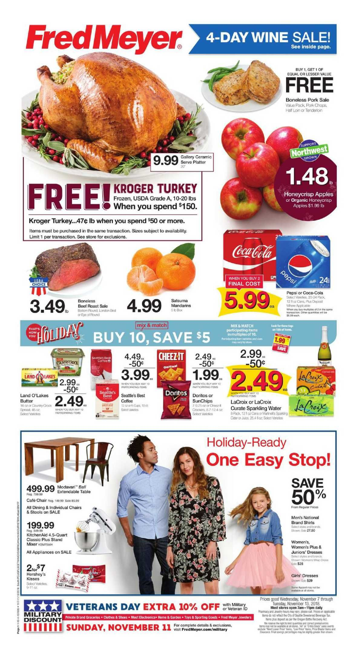 4a2c2a202427 Check Latest Fred Meyer Weekly ad flyer November 7 – 13