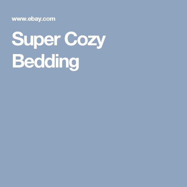 Super Cozy Bedding