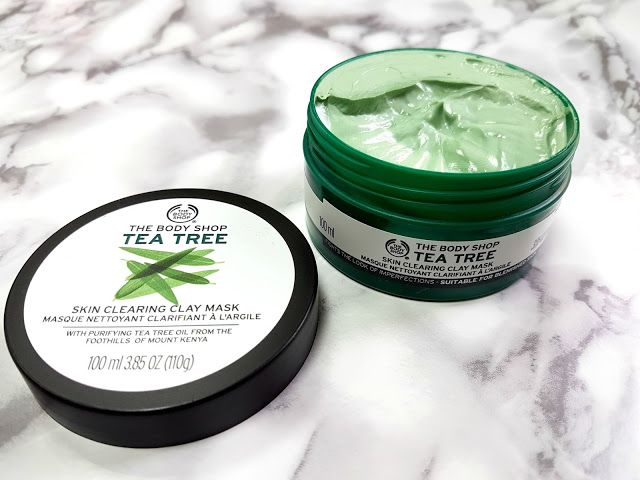 A Review On The Body Shop Skin Clearing Clay Mask Body Shop Tea Tree The Body Shop Body Shop Skincare