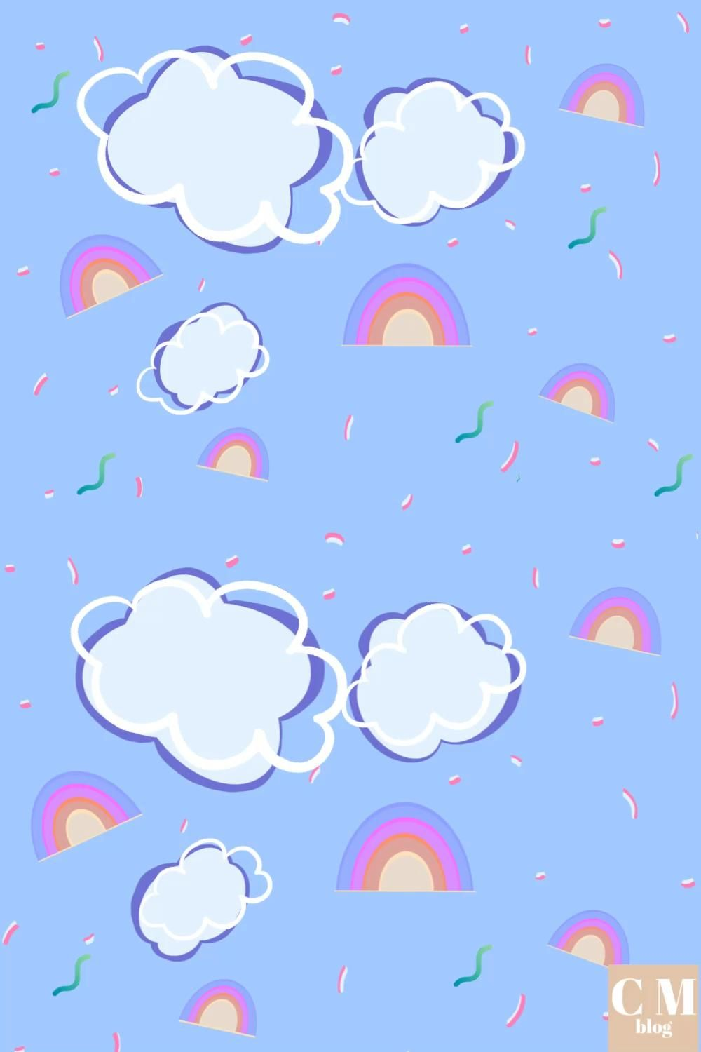 Clouds and Rainbows!!