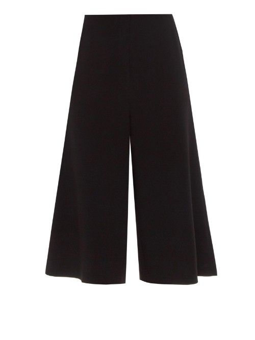 Take on a modern relaxed style with the Elizabeth & James 'Presli' wide-leg crepe culottes $195, available here: rstyle.me/~5ZLG4