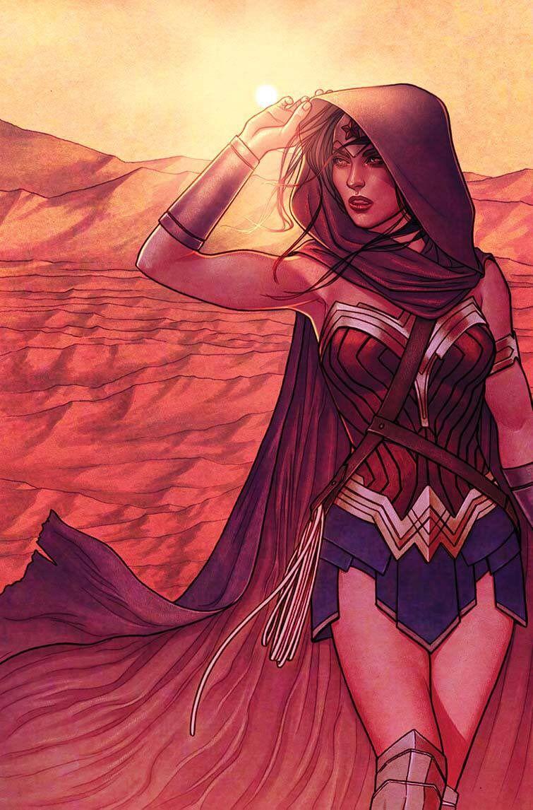Jenny Frison S Wonder Woman Superhero Pinte