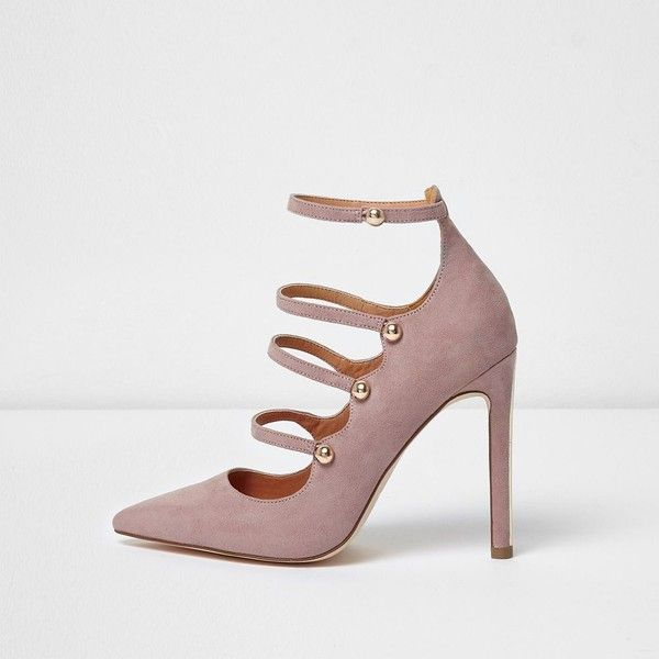 River Island Womens Light pointed strappy shoes