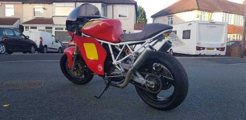 Ducati 750ss Cafe Racer Track Bike Classic Race Track Ducati