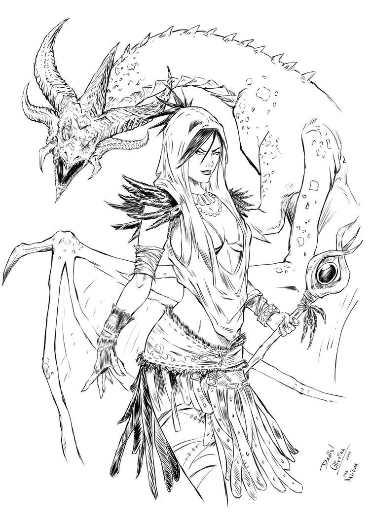 Morigan From Dragon Age By Daliborgaric