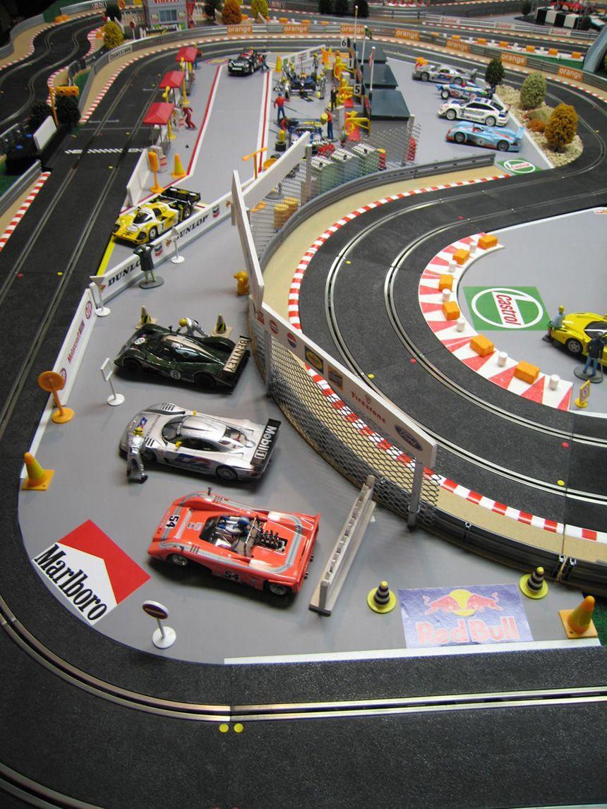Any Slot Car Racers Out There Lotustalk The Lotus Cars Community Carrerabahn Autorennbahn Carrera