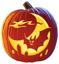 stews brews pumpkin carving pattern halloween k rbis. Black Bedroom Furniture Sets. Home Design Ideas