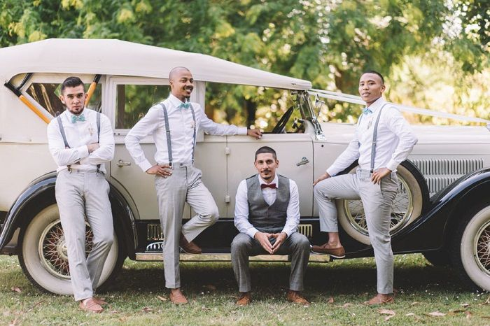 Groom and groomsmen | itakeyou.co.uk