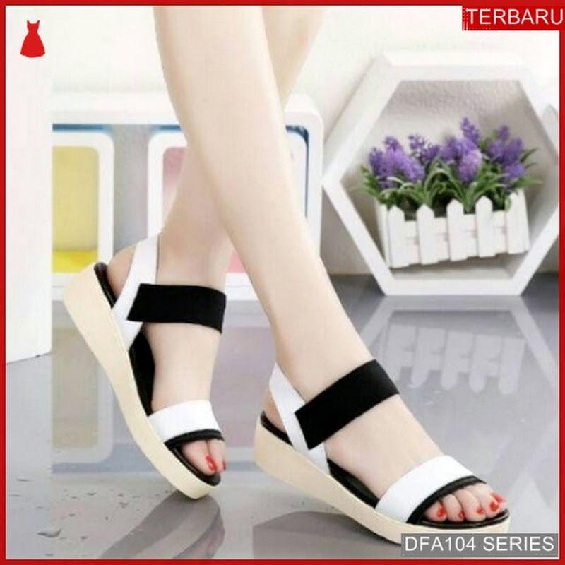 Dfa104y30 Ym08 Sandal Wedges Alishba Wanita 3011 Dewasa Bmgshop