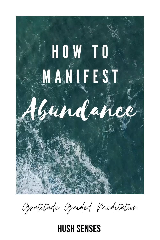 POWERFUL GRATITUDE MEDITATION   HOW TO Attract Abundance!